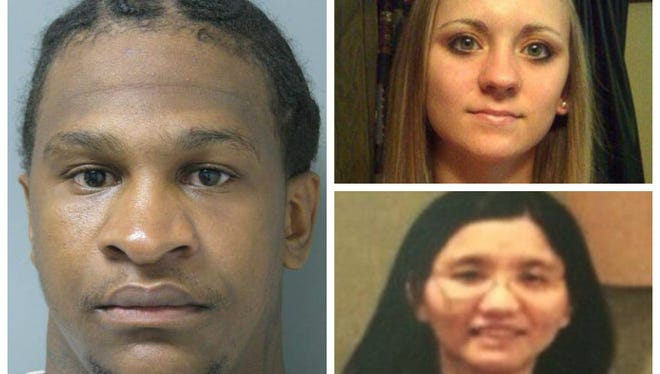 Quinton Tellis, left, Jessica Chambers, top right, and Meing-Chen Hsiao