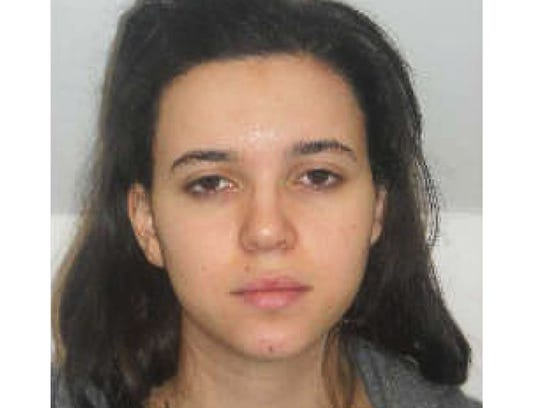 Hayat Boumeddiene, 26, is wanted in connection with