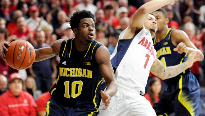 Michigan Wolverines guard Derrick Walton Jr.