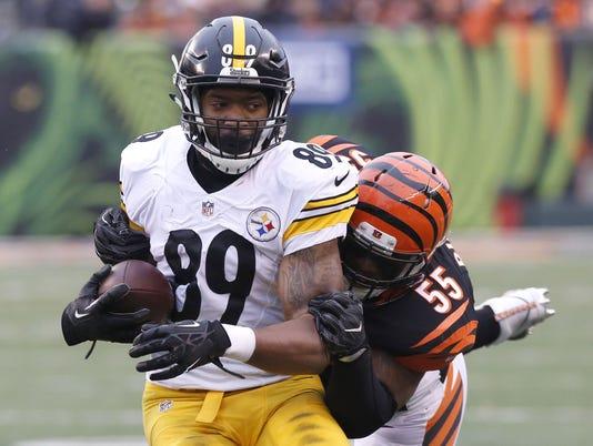 USP NFL: PITTSBURGH STEELERS AT CINCINNATI BENGALS S FBN USA OH