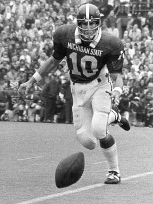 Brad Van Pelt was a two-time All-American at Michigan State and won the Maxwell award as college football's outstanding player in 1972.