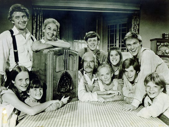 Richard Thomas (top right) became a household name