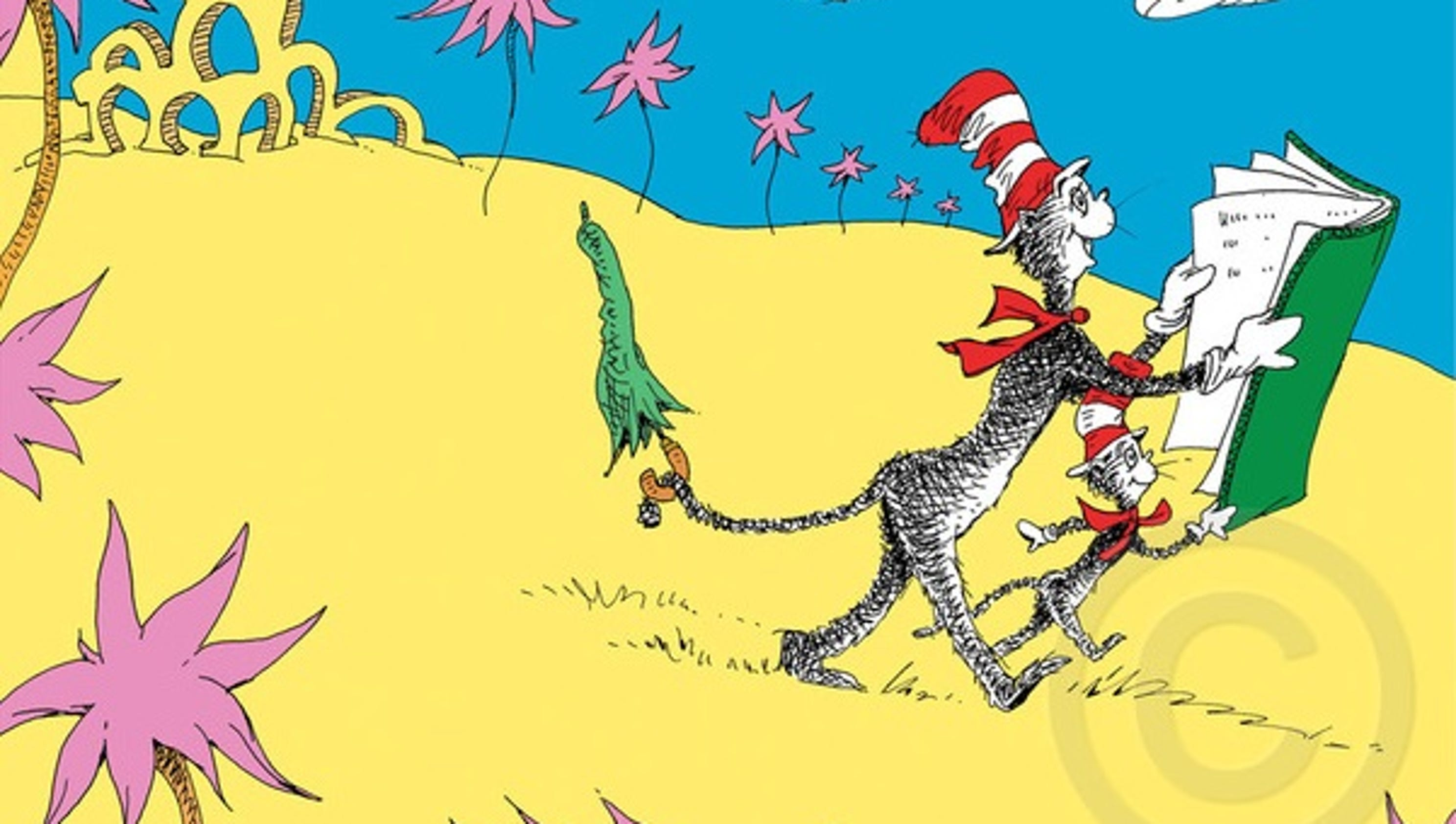 Amazing Dr Seuss Canvas Wall Art Ornament - Wall Art Collections ...