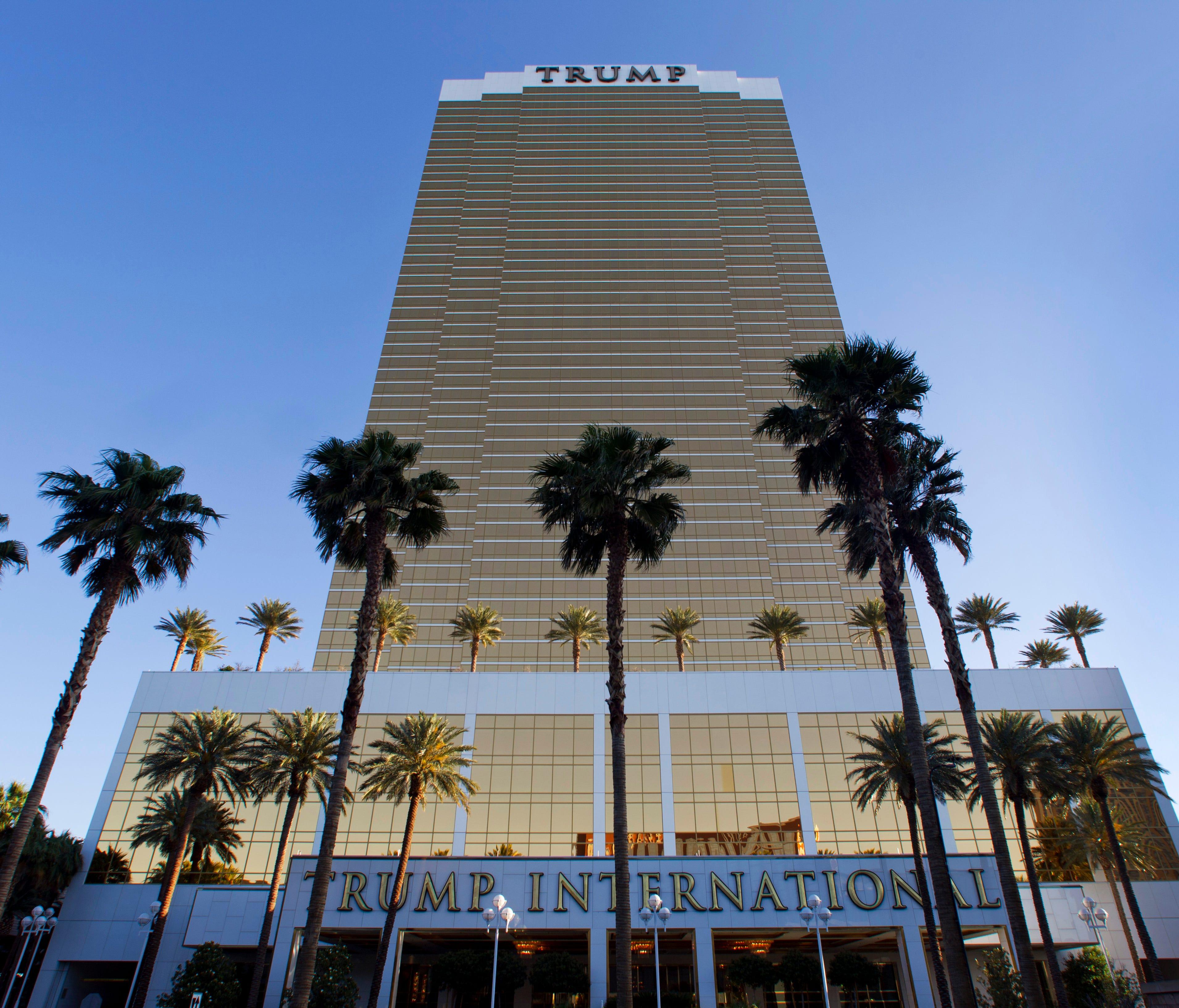 Trump International Hotel Las Vegas Monday, April 28,