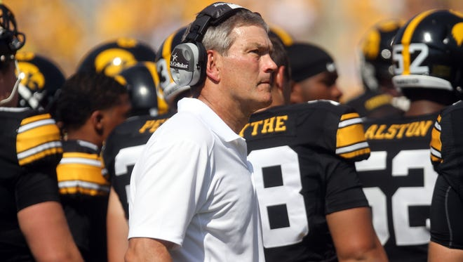 The AP says Kirk Ferentz will lead the Hawkeyes to two bowls in the 2015-16 bowl season.