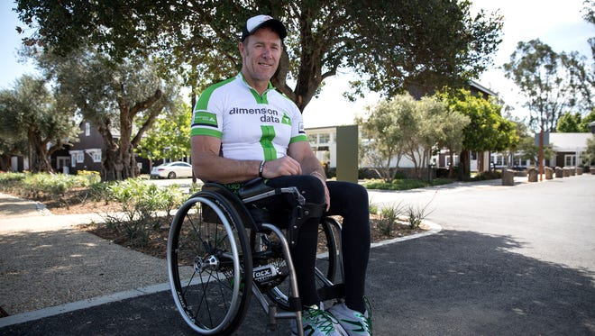 Paralympian John Maclean is participating in the Bike MS: City to Shore Ride