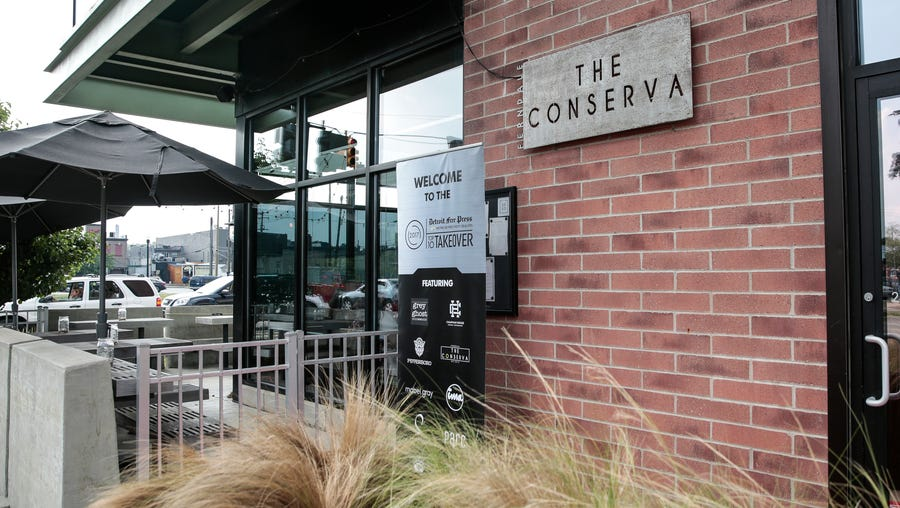 The Conserva restaurant in Ferndale is closing.