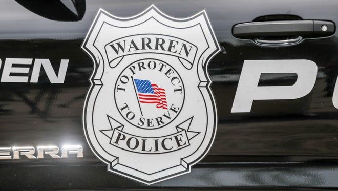 The Warren Police department logo
