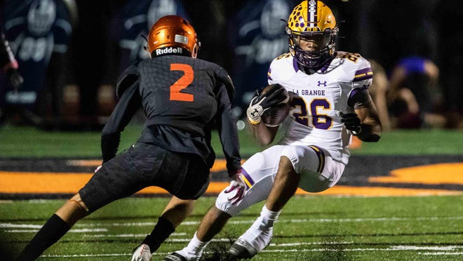 La Grange running back D.J. Taylor had 86 yards on the ground last week, and he'll lead the Leopards into a nondistrict contest against Canyon Lake on Friday.
