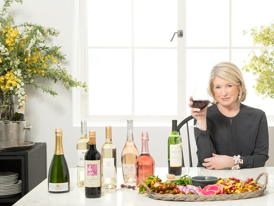 Martha Stewart poses in a promotional photograph for