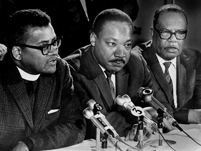 """a look at martin luther king jr and his conflicts with mass media On this past martin luther king jr  this past martin luther king day, a social media artist sought to recontextualize dr king's words in his famous """"letter from a birmingham jail"""" by."""