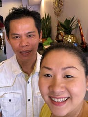 Jason and Jenny Nguyen own Pho Kingdom in Fort Myers.