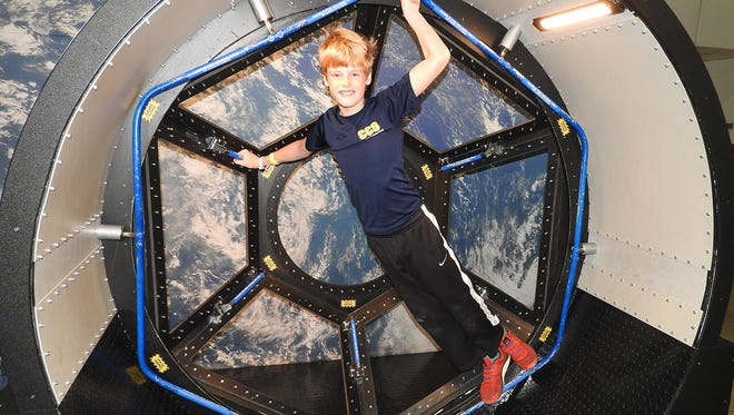 5th grade CCS student, Carson Freeland, has an out-of-this-world experience at Space Camp.