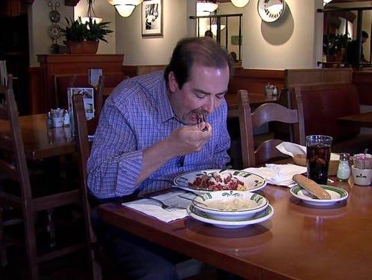 Man Eats 95 Olive Garden Meals In 6 Weeks