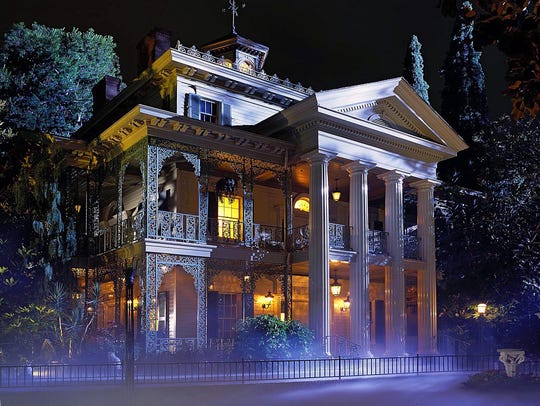 1. Haunted Mansion | This ride has so many things going