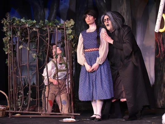Mary Beth Nelson, left, Stacey Geyer and Jordan Schreiner