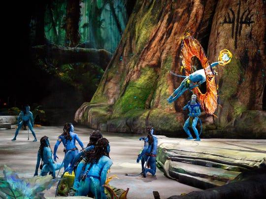 """Toruk,"" Cirque du Soleil's take on the James Cameron film ""Avatar,"" will be in Phoenix Nov. 16-20."
