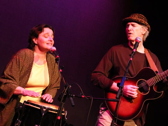 Karen Savoca and Pete Heitzman will play at Bo Diddley's