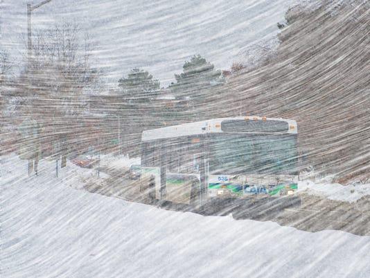 Snow Route Detours