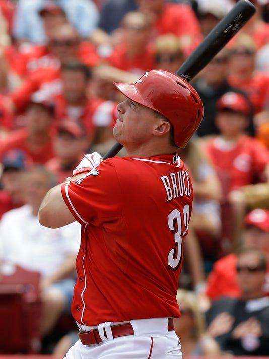 Brewers Reds Baseball