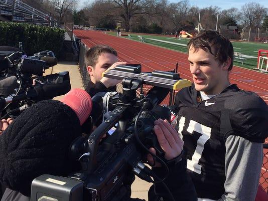 Kyle Kempt meets the press