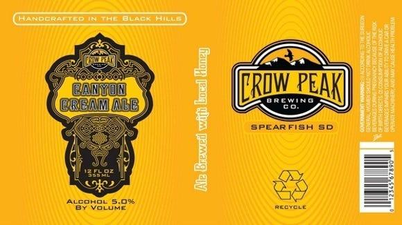 Crow Peak Canyon Cream Ale.