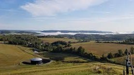 The Steuben County landfill. The county's hazardous waste days help residents safely dispose of pool and other toxic chemicals.