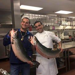 Owner Joey Maggiore, left, and Chef Michael Dei Maggi of Cuttlefish.