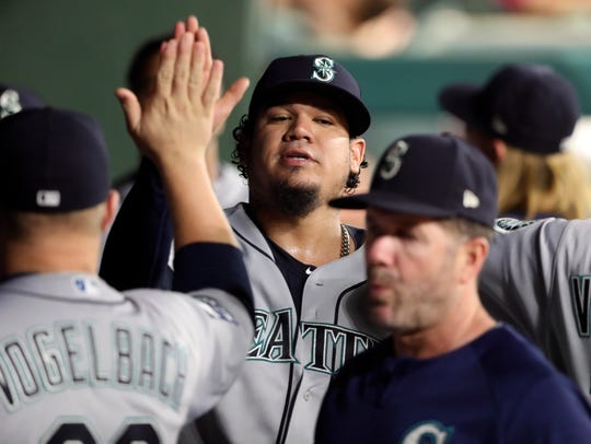 Felix Hernandez missed much of the 2017 season with