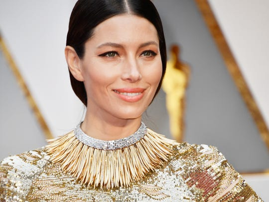 Actor Jessica Biel attends the 89th Annual Academy