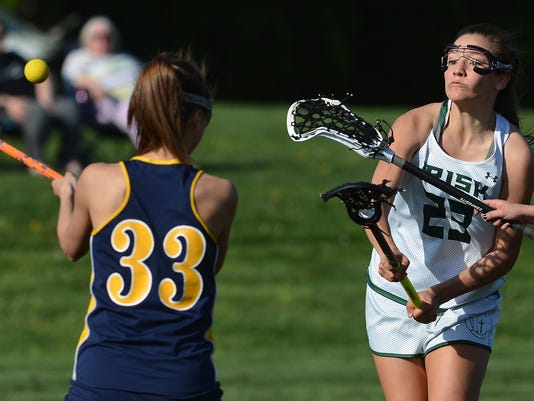 Eastern York vs York Catholic girls' lacrosse,
