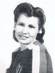 Cecilia Triviz Fitch Oliver, shown here in a 1944 photo,
