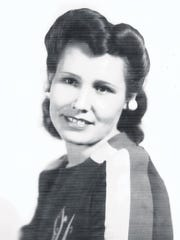 Cecilia Triviz Fitch Oliver, shown here in a 1944 photo, was known for her sense of style, business acumen and wise sayings.