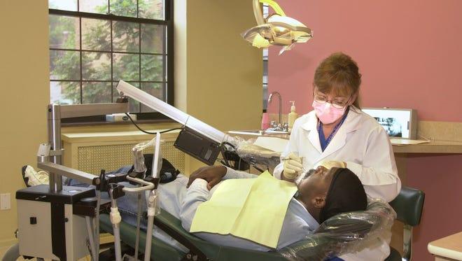 The Elm Street Health Center will open an expanded dental clinic in February 2017.