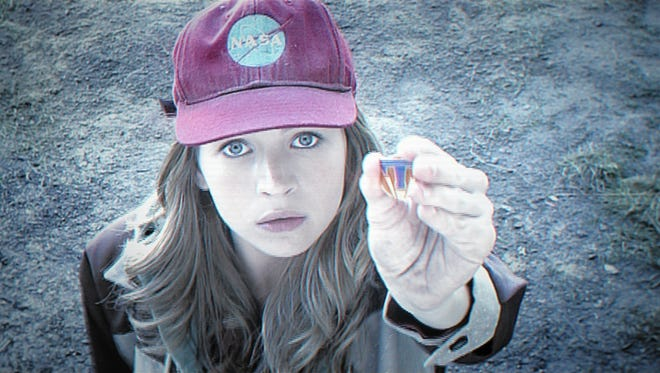 "Britt Robertson stars in Disney's ""Tomorrowland,"" now in theaters."