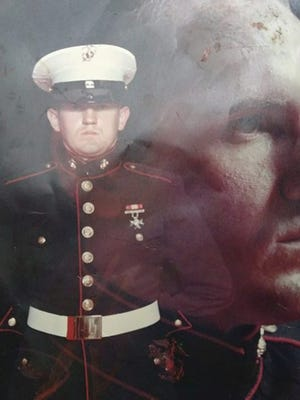 U.S. Marine Ken Brumit will serve as guest speaker at the May 30 Memorial Day Ceremony at Hudgins Cemetery.