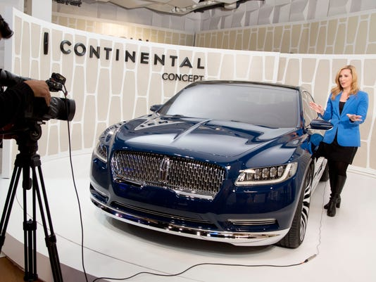 Lincoln Prices Continental To Start At 45 485