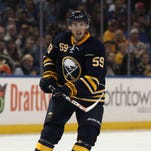 In six games during a 5 1/2-week recall to the Buffalo Sabres, Tim Schaller produced two assists.