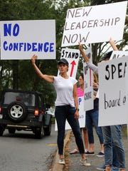Chappaqua parents protested the school district's handling
