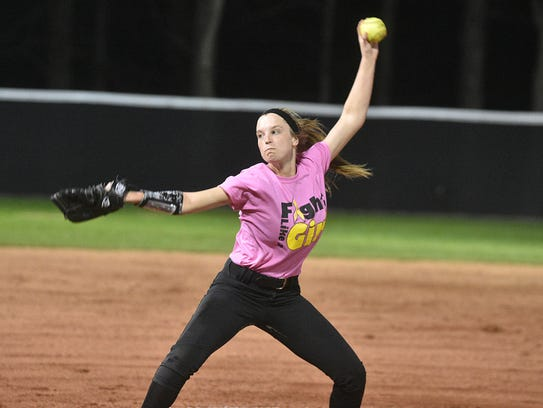 Hendersonville's Hollee Mattei delivers a pitch during