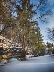 Wedges Creek in southwest Clark County in early March