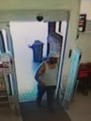 Deputies released this image of a man suspected of