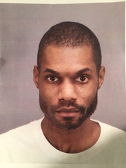 Mugshot of Larry Hayslett, the suspect who has barricaded