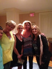 Melissa Etheridge (right) tweeted this photo of herself