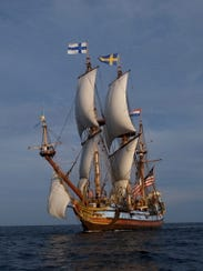 The 380th anniversary of the Kalmar Nyckel will be