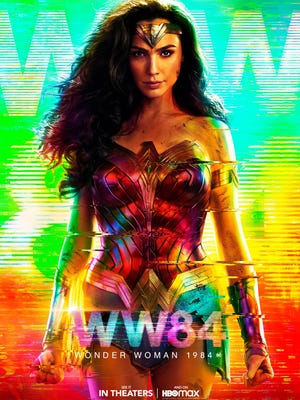"Poster for ""Wonder Woman 1984."""