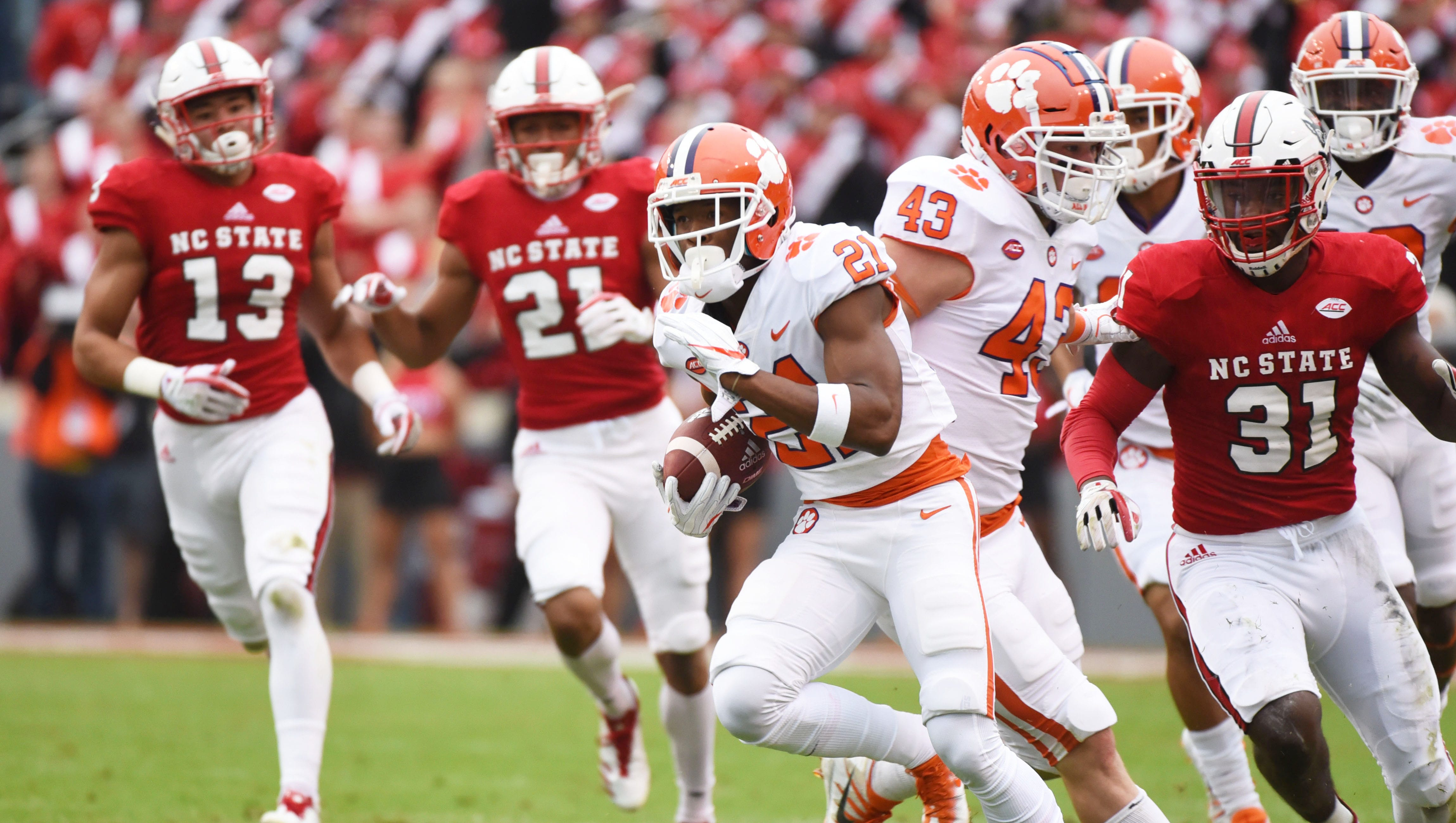 Takeaways From Clemson S Win At N C State The Tigers Keep