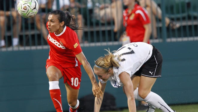Marta was one of the stars on a 2011 squad for the Flash that Sports Illustrated said could possibly have been the best in women's club soccer history.