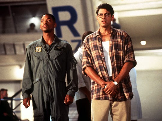 Will Smith and Jeff Goldblum in 'Independence Day.'