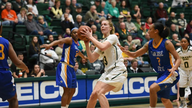 The CSU women's basketball team hosts San Jose State at 2 p.m. Saturday at Moby Arena.